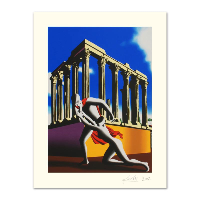 """""""Eternal City"""" Limited Edition Serigraph"""