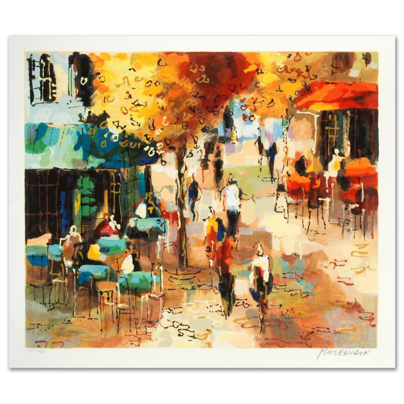 """""""The Coffee Strip"""" Limited Edition Serigraph by Michael Rozenvain"""