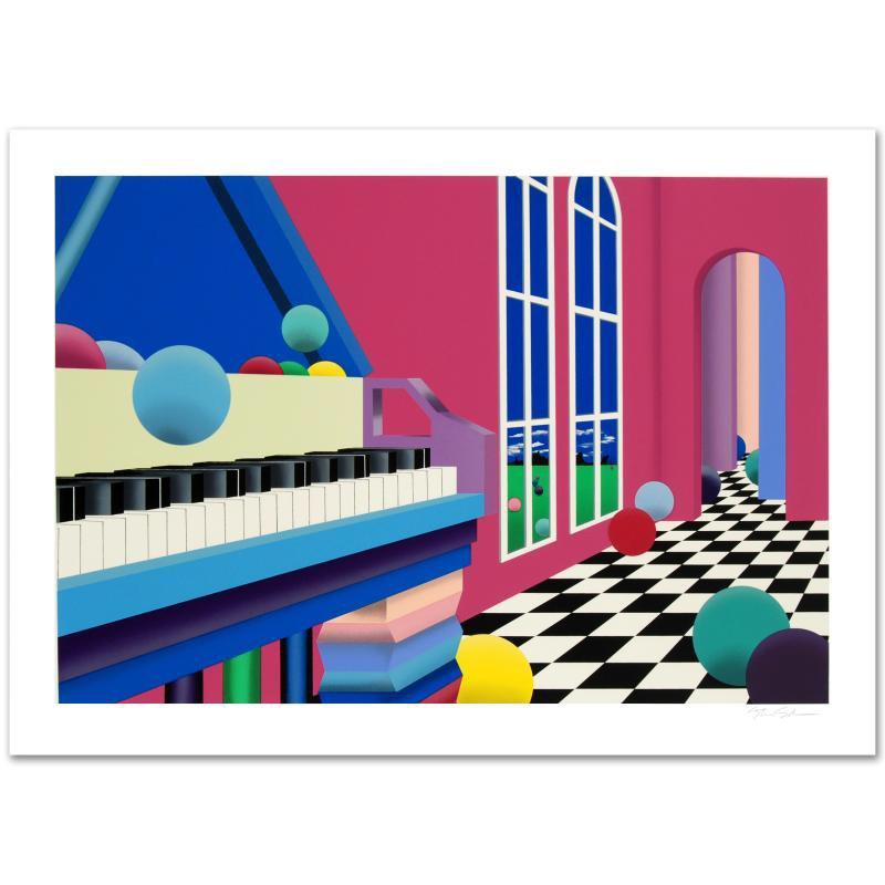 """Grand Ballroom"" Limited Edition Serigraph"