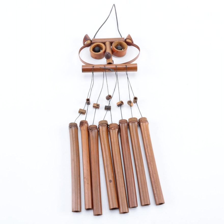 Owl Motif Wind Chime Ebth