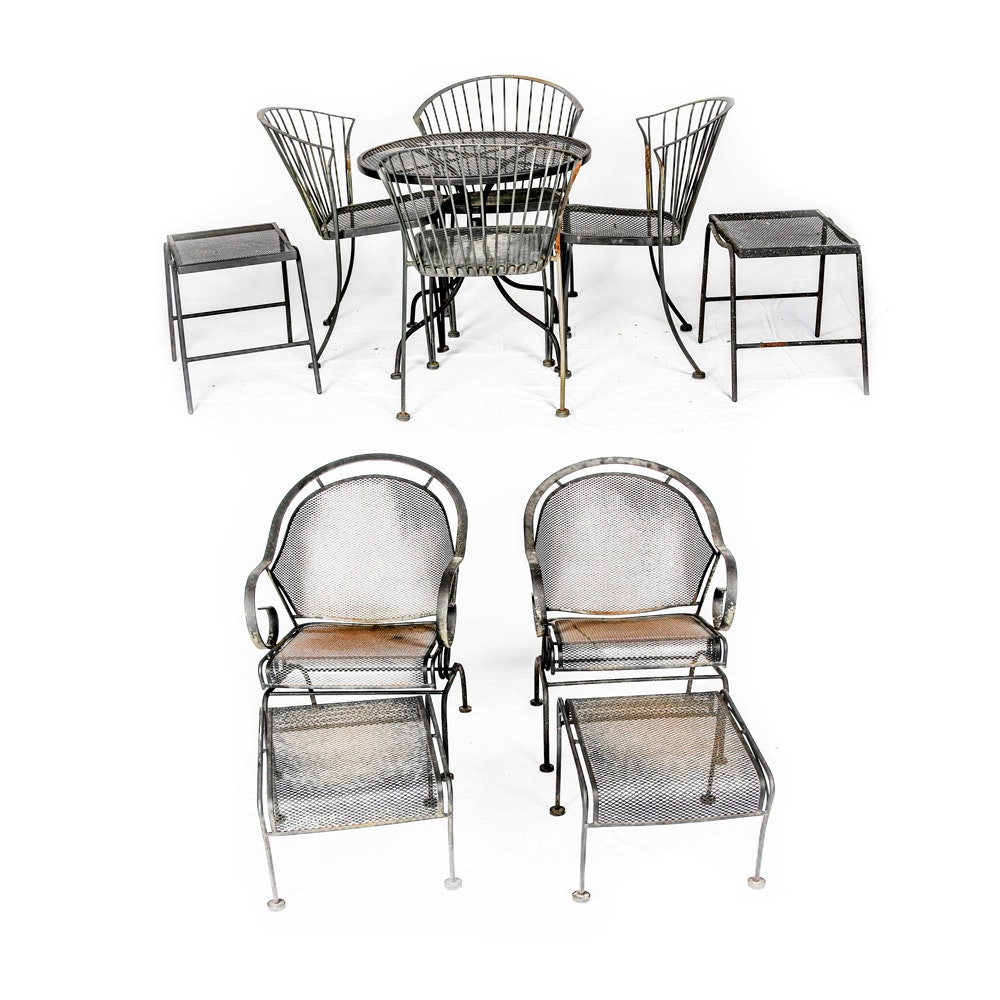 Collection Of Wrought Iron Patio Furniture ...