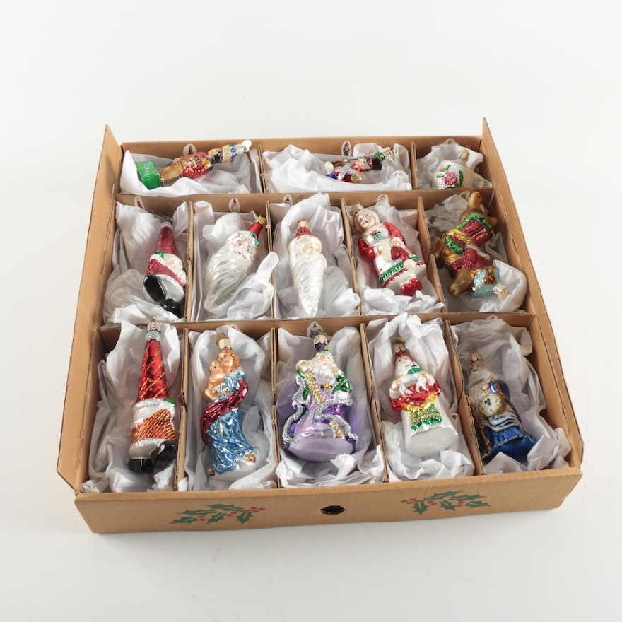 Collection of Merck Family Old World Glass Christmas ...