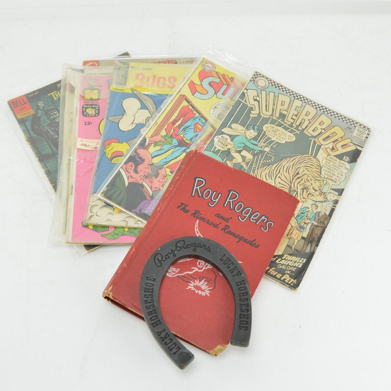 """1952 """"Roy Rogers and The Rimrod Renegades"""" and Vintage Comic Books"""