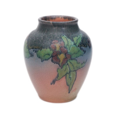 Vera Tischler Signed Hand-Painted Rookwood Vase, 1923