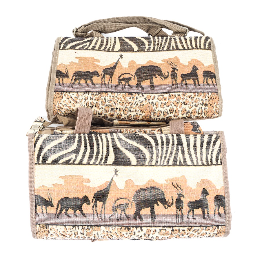3b9d1354558f Jade Collapsible African Savanna Rolling Bags