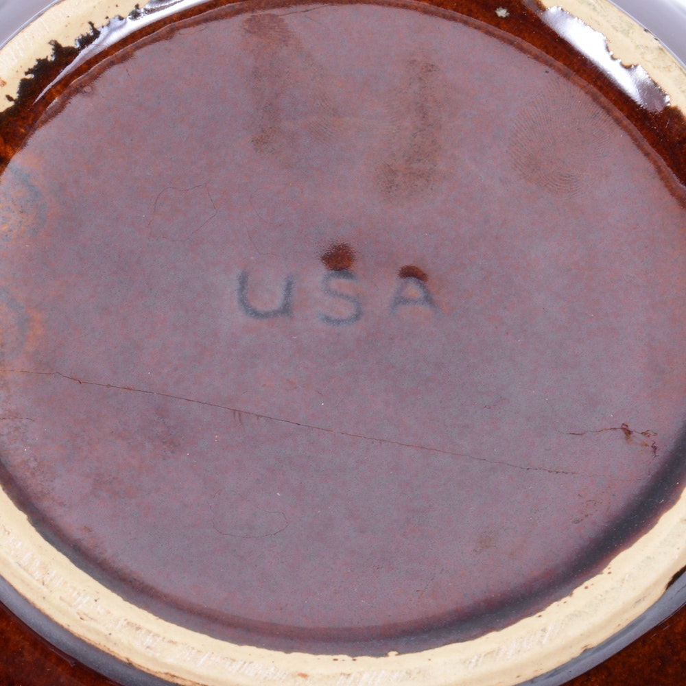 American Made Pottery Including Brush And Royal Haeger Ebth