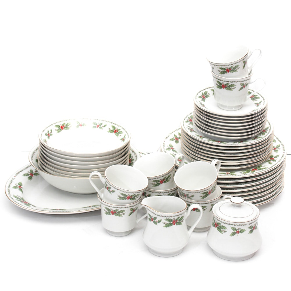 Centurion Collection Holly Berry China Service ...  sc 1 st  EBTH.com & Centurion Collection Holly Berry China Service : EBTH