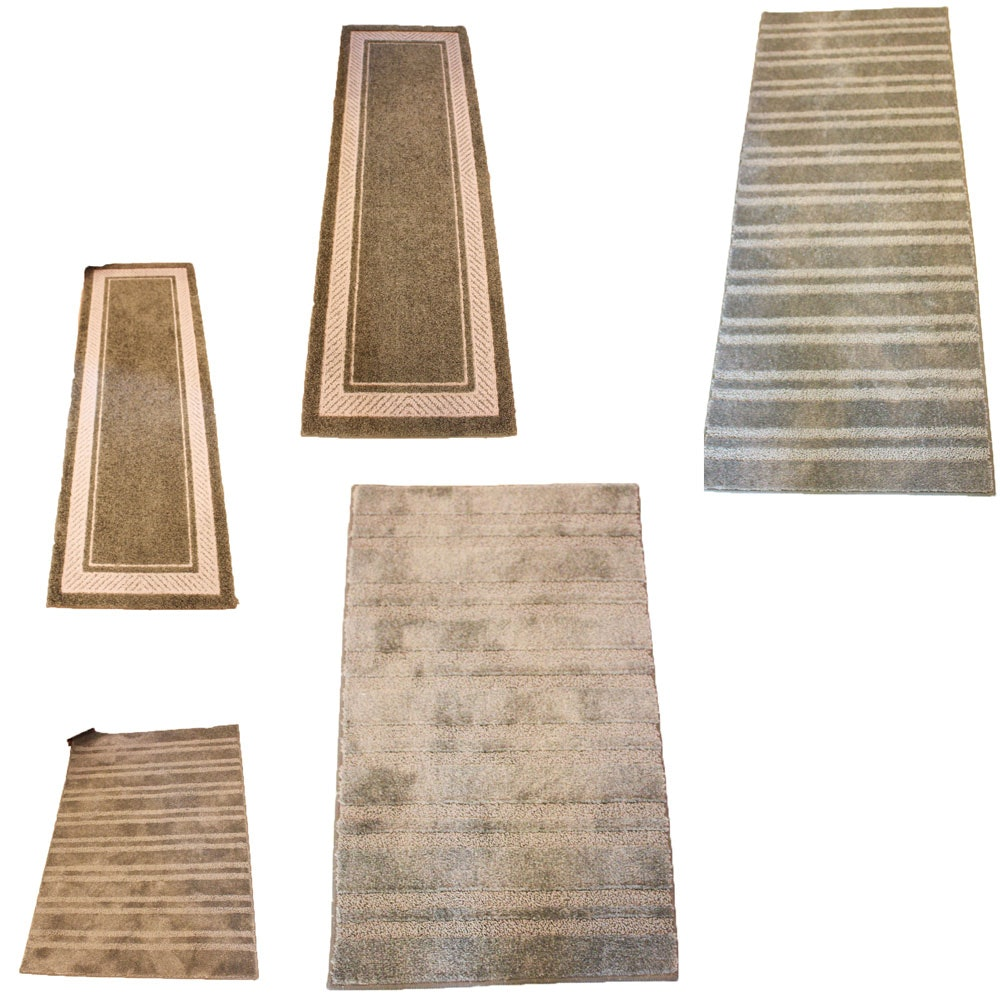 Machine Knotted Rug and Carpet Runner Assortment