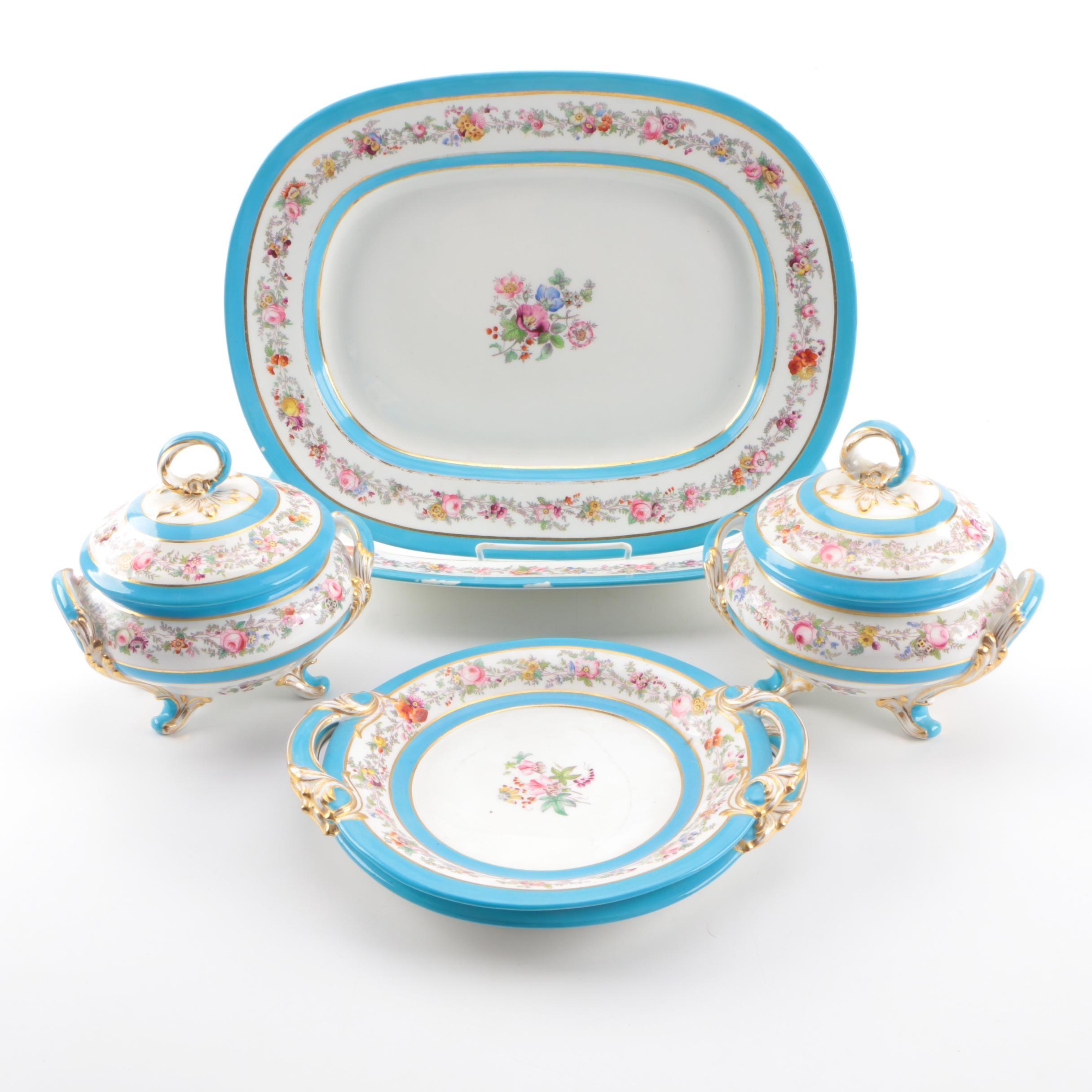 Antique Porcelain Serveware