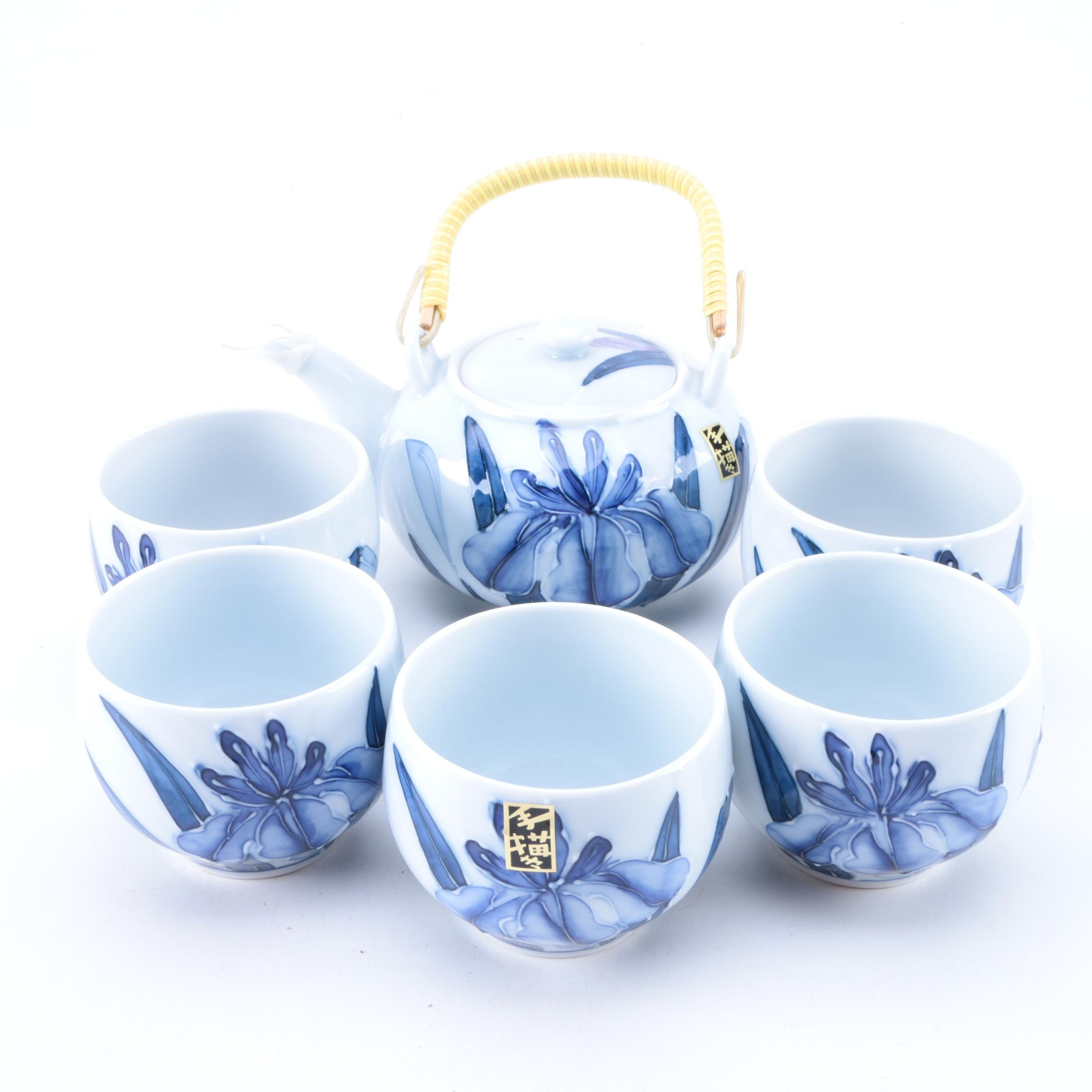 Asian Porcelain Tea Set