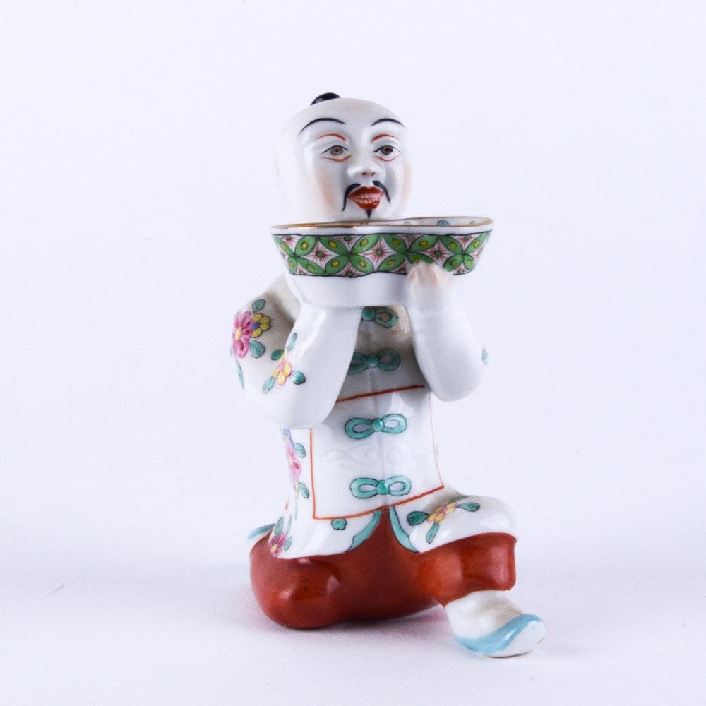 """Herend """"Chinese Kneeling"""" Figurine"""