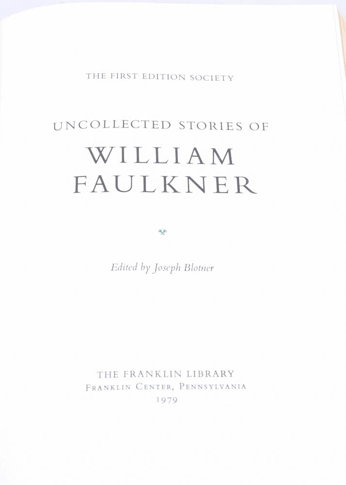 the life and works of william faulkner Literature term papers (paper 3720) on william faulkner: his life and works: it is not often that a fictitious character creates another, but manifest in the person of william faulkner this.