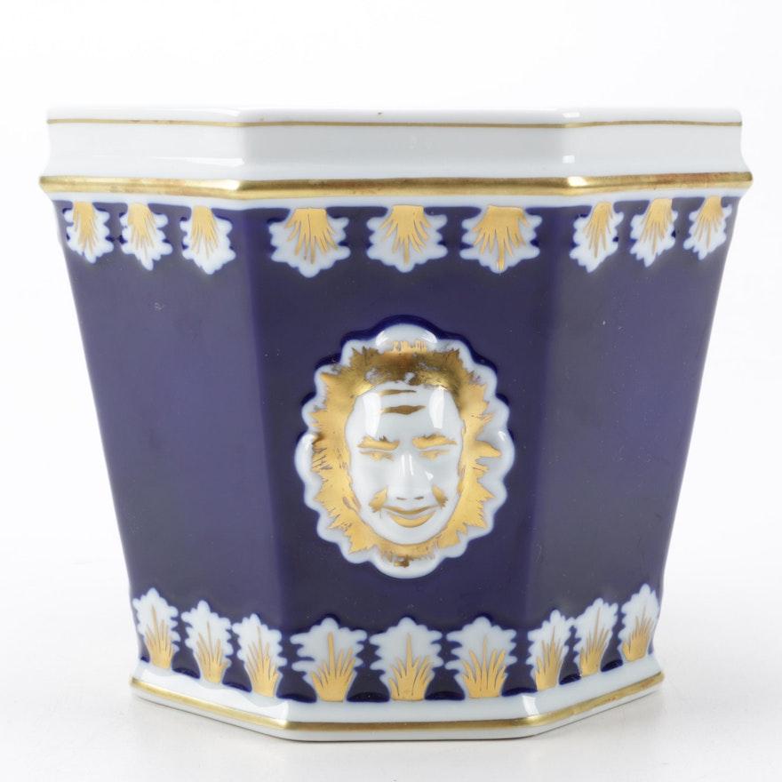 Mottahedeh Vista Alegre Cache Pot from Portugal : EBTH