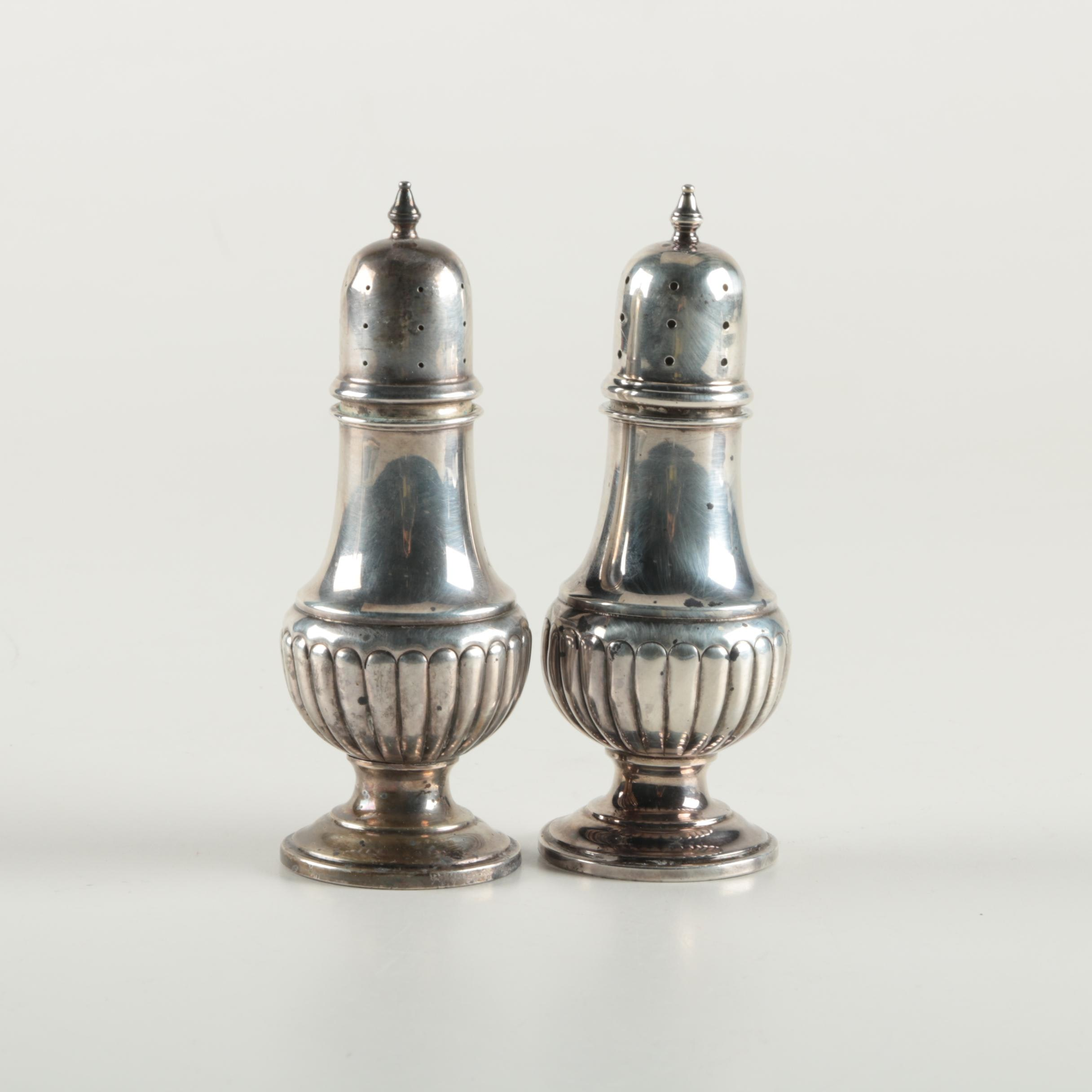 Fb Rogers Silver Co Sterling Silver Salt And Pepper Shakers Ebth