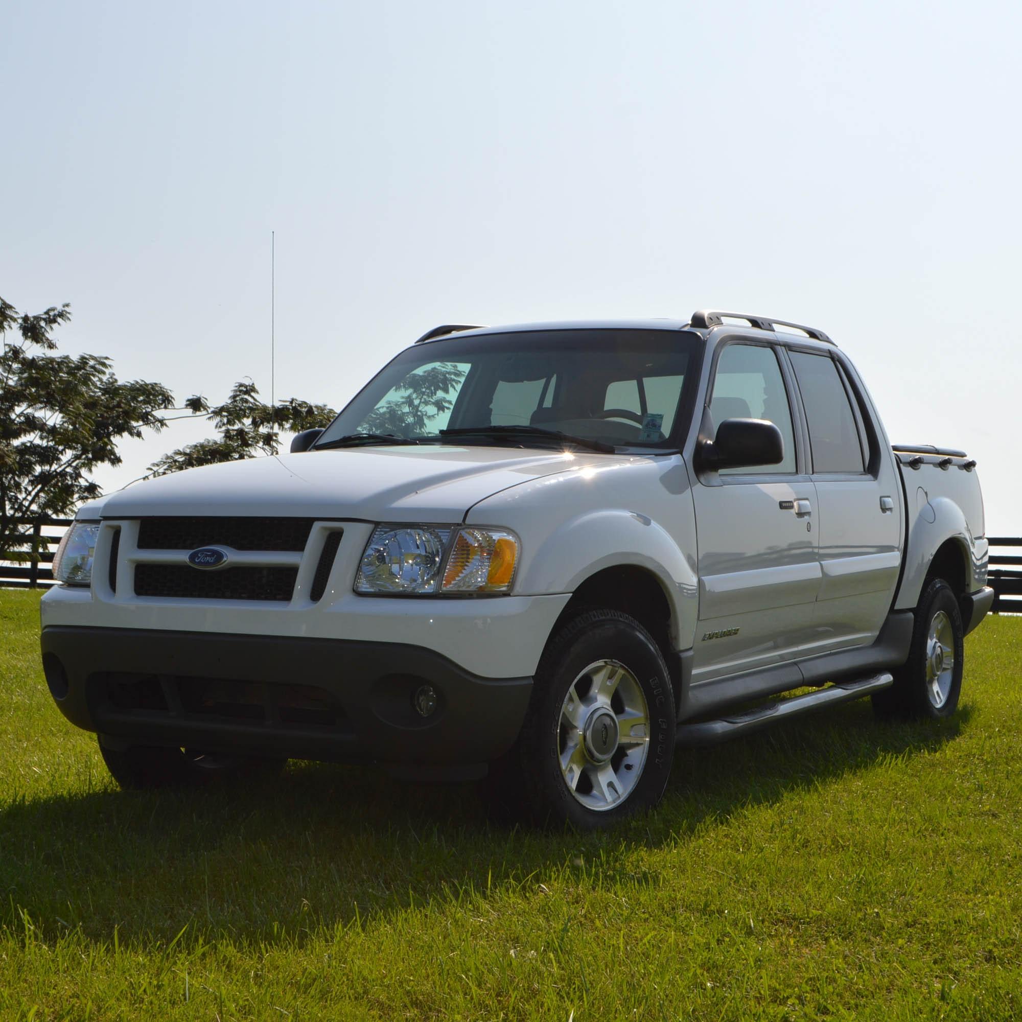 2002 Ford Explorer Sport Trac Pickup Truck