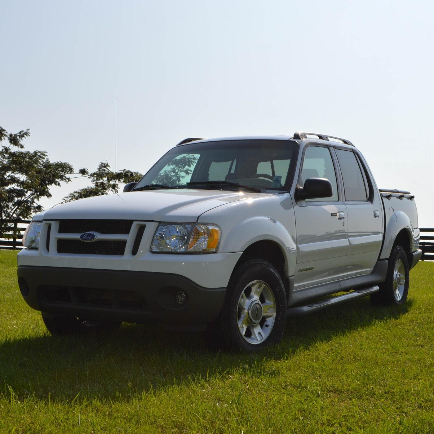 2002 ford explorer sport trac pickup truck ebth. Black Bedroom Furniture Sets. Home Design Ideas