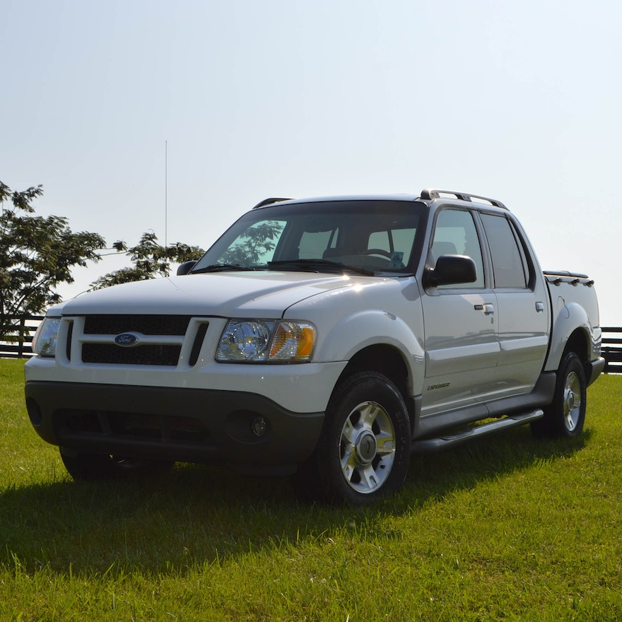 Ford Sport: 2002 Ford Explorer Sport Trac Pickup Truck : EBTH