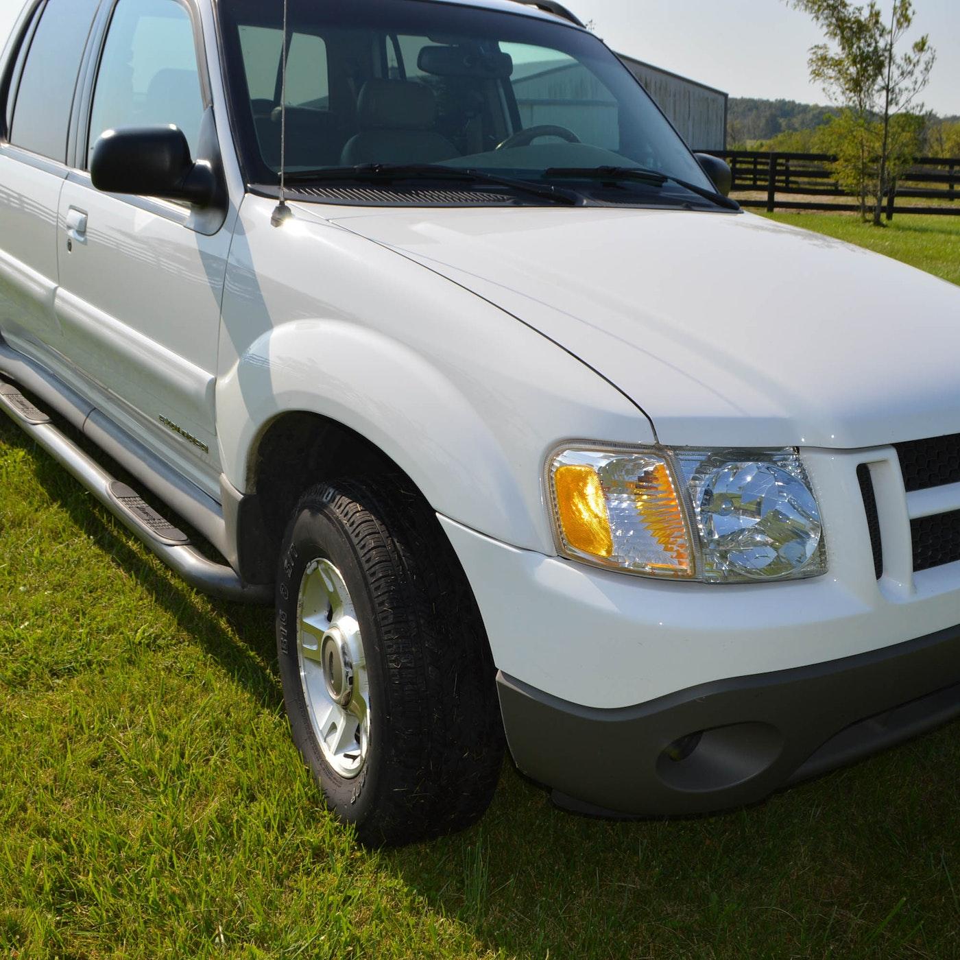 2002 Ford Explorer Sport Trac Pickup Truck : EBTH