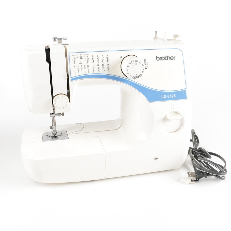 Brother LX40 Sewing Machine EBTH Delectable Brother Sewing Machine Lx3125