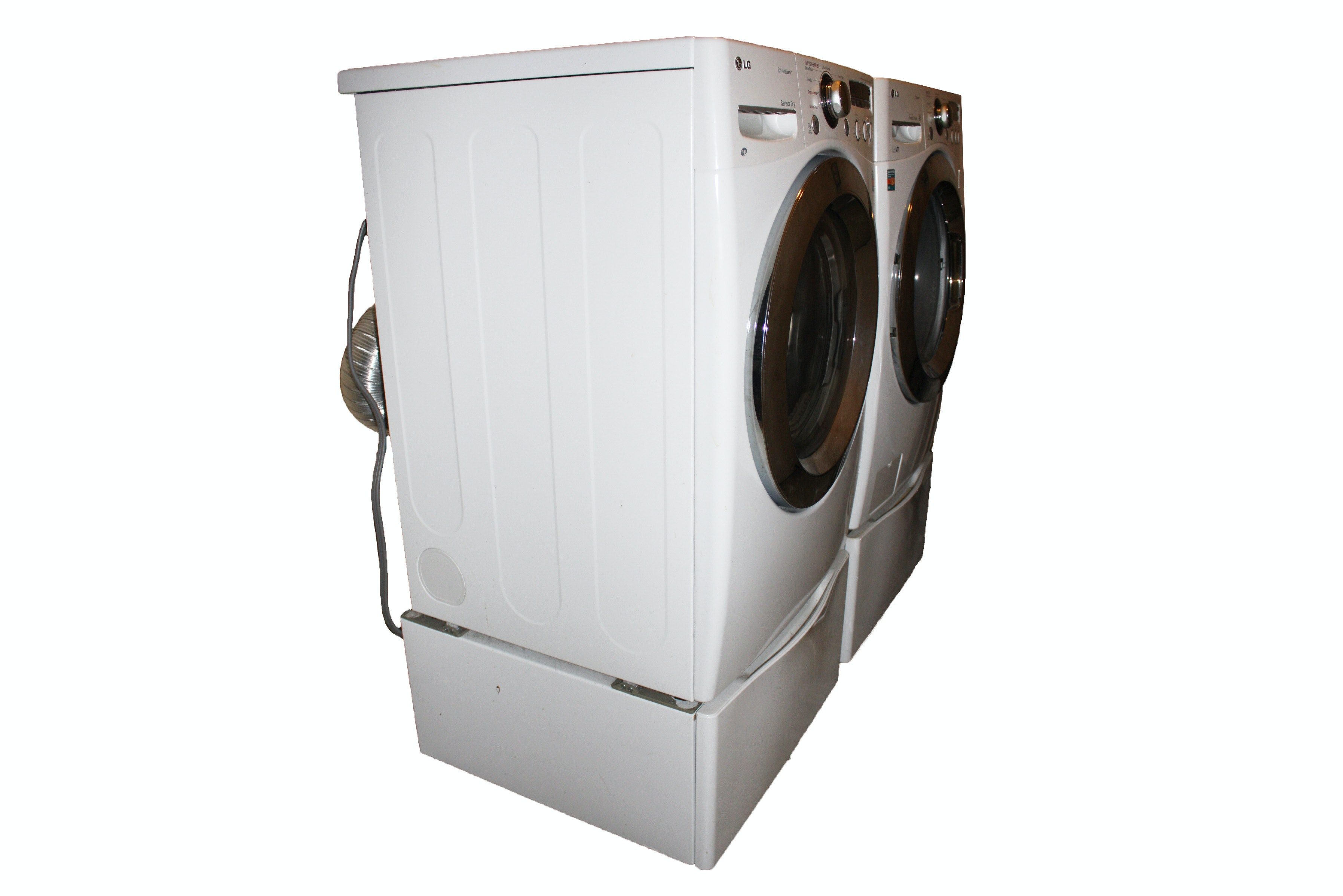 lg large capacity washer and dryer