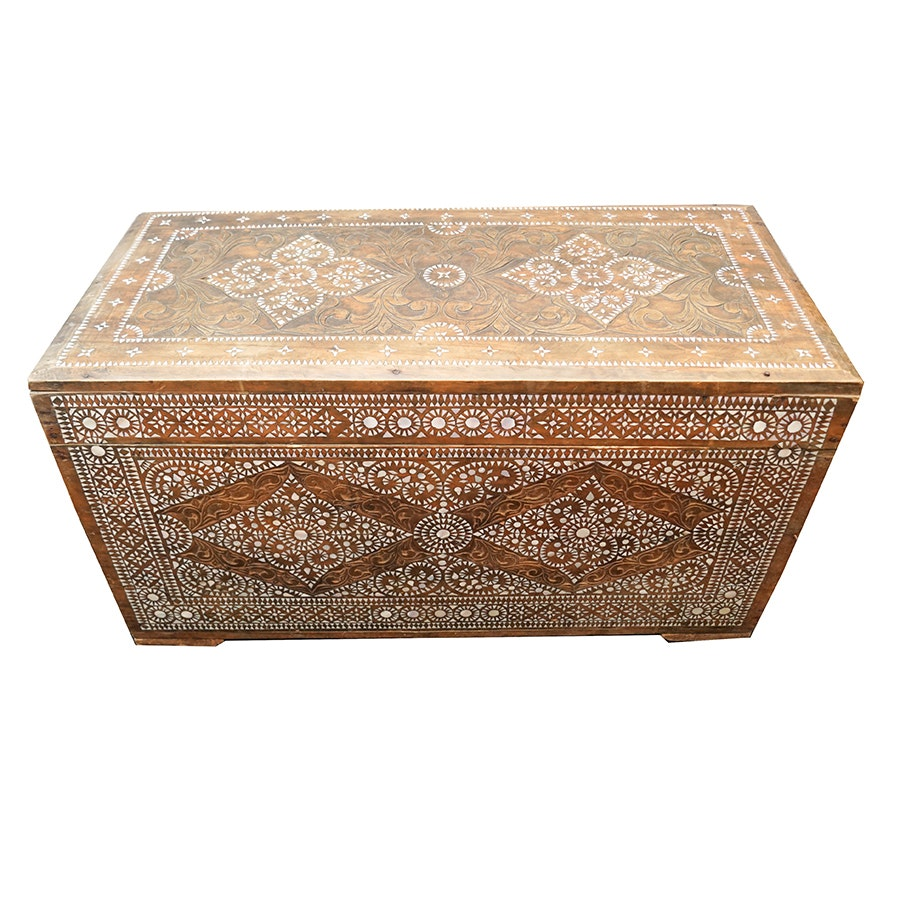 Mother of Pearl Inlay Chest