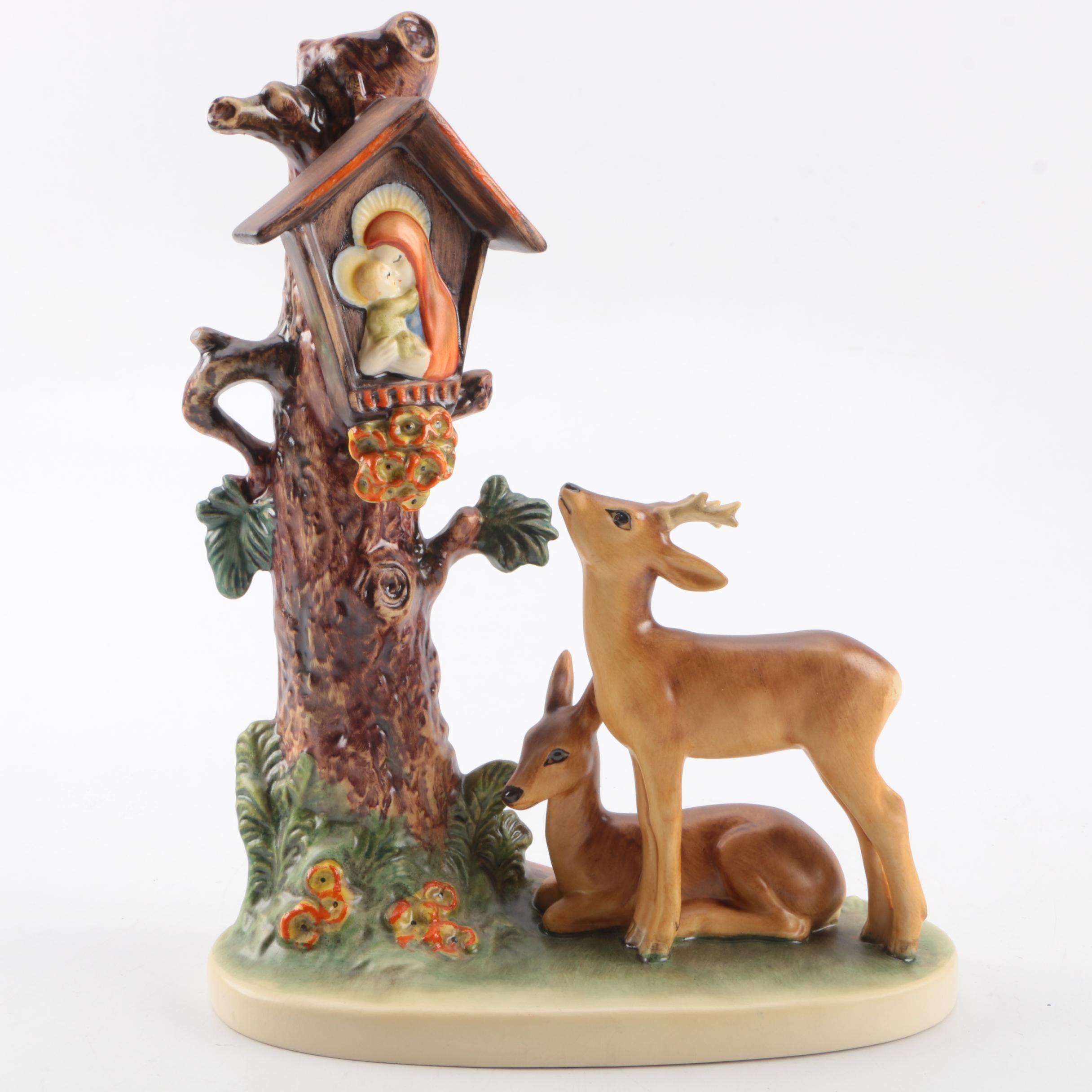 "M.I. Hummel ""Forest Shrine"" Figurine"