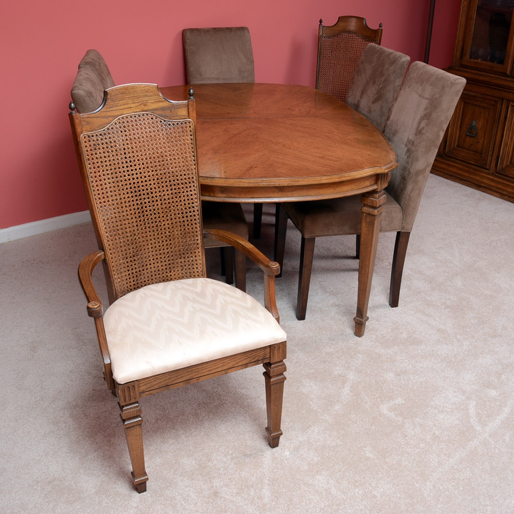 Dining Table and Chairs by Broyhill Furniture