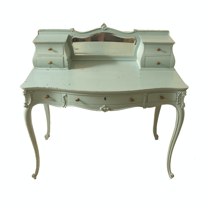 Vintage louis xv style dressing table ebth - Table de chevet louis xv ...