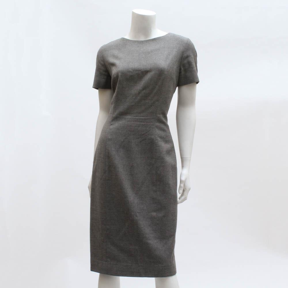 """""""Pam McMahon"""" Wool Sheath Dress"""
