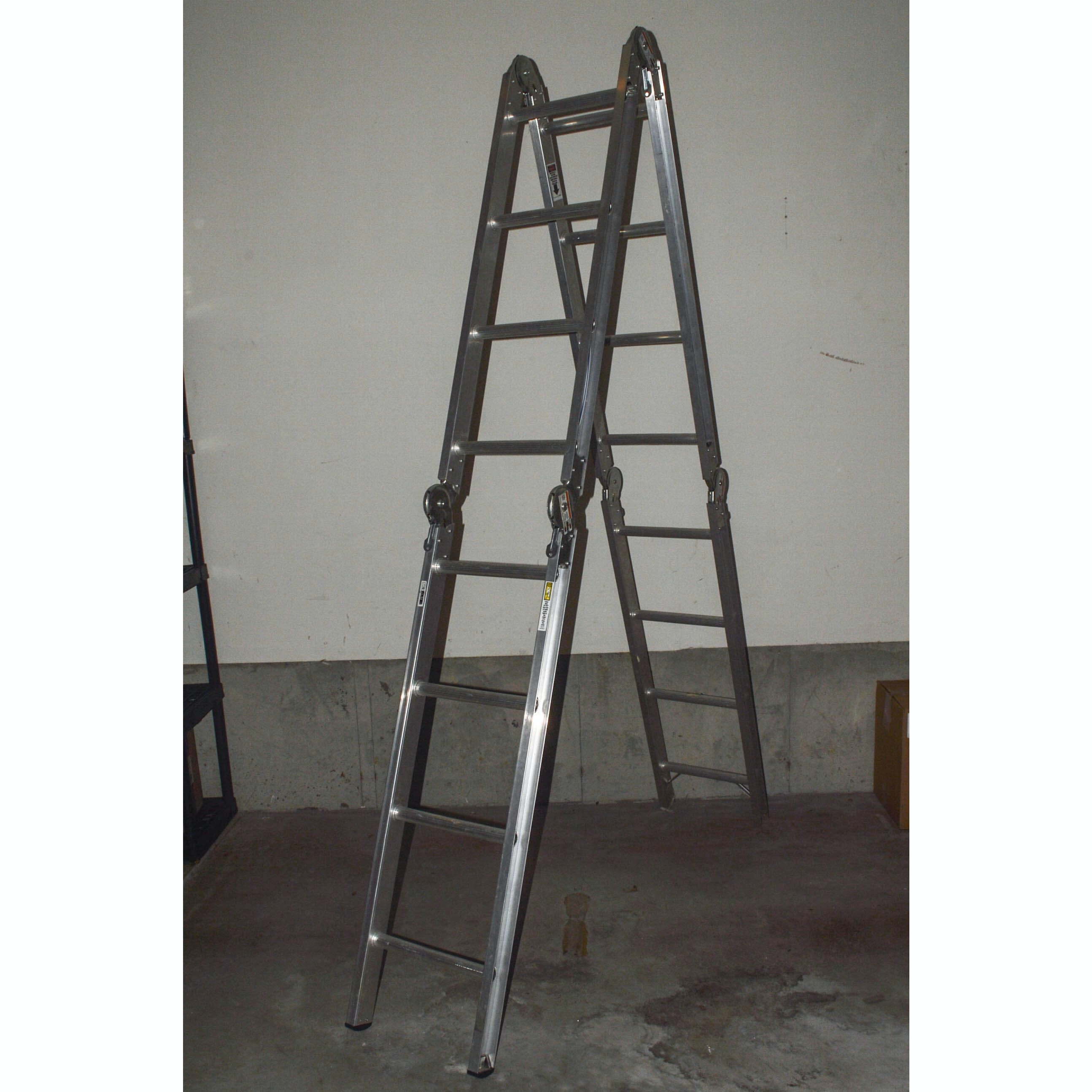 Werner Aluminum Multi-Position M1-8-16 Ladder