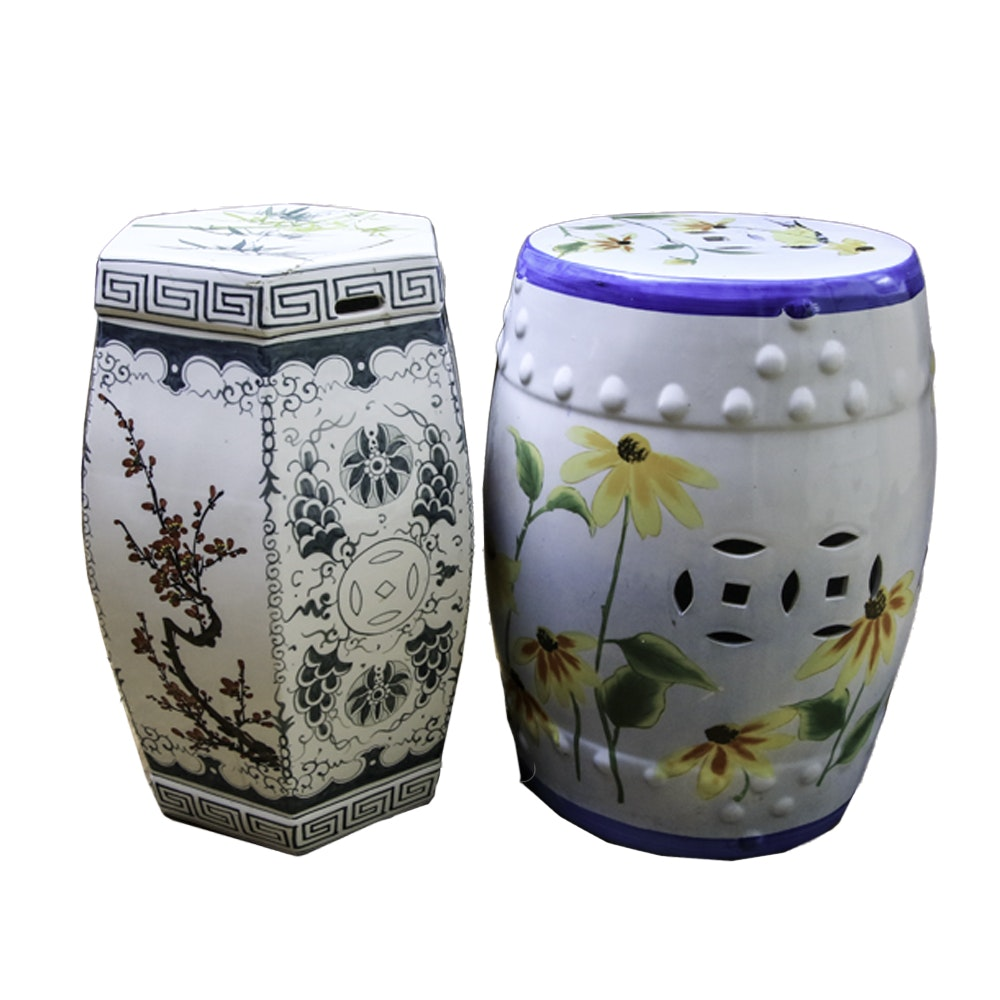 Chinese Porcelain Garden Stools