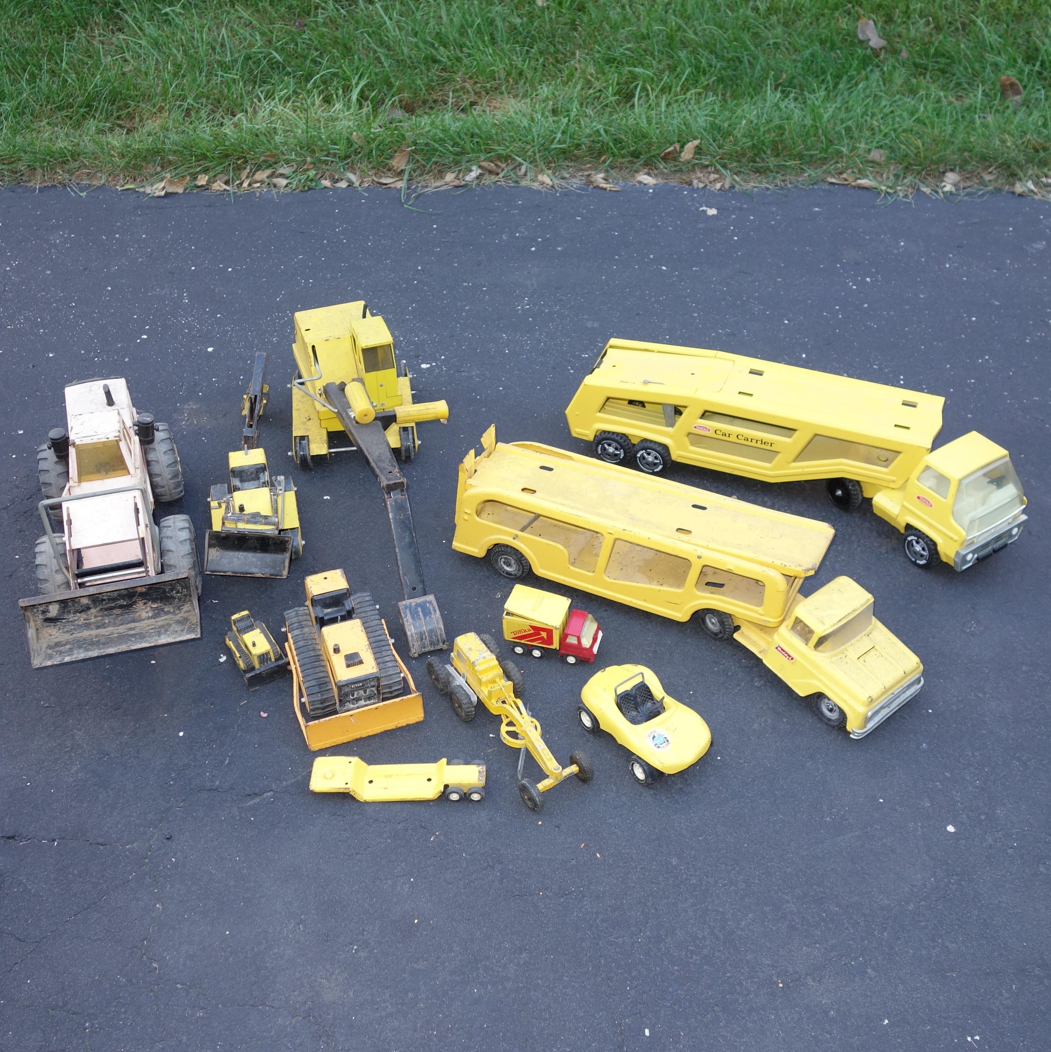 Vintage Tonka Toy Truck Group