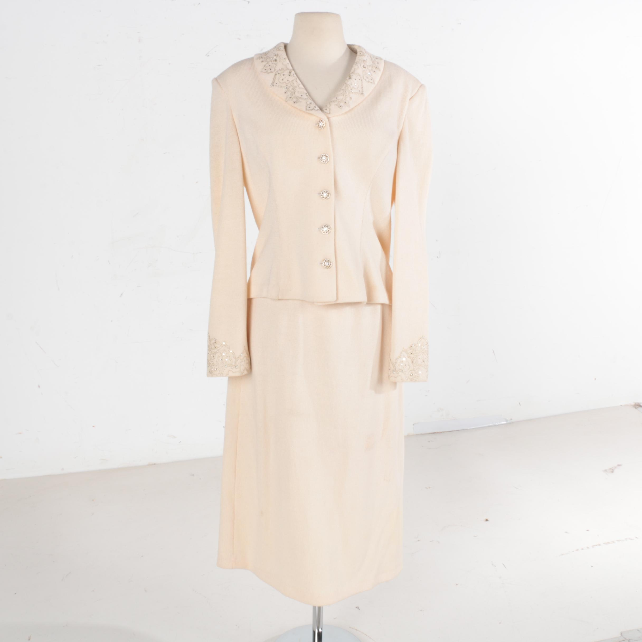 St. John Evening Skirt Suit