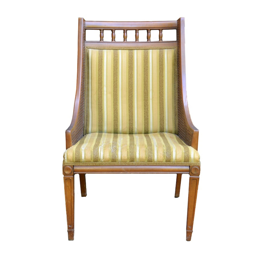 mid century accent chair by statesville chair company ebth