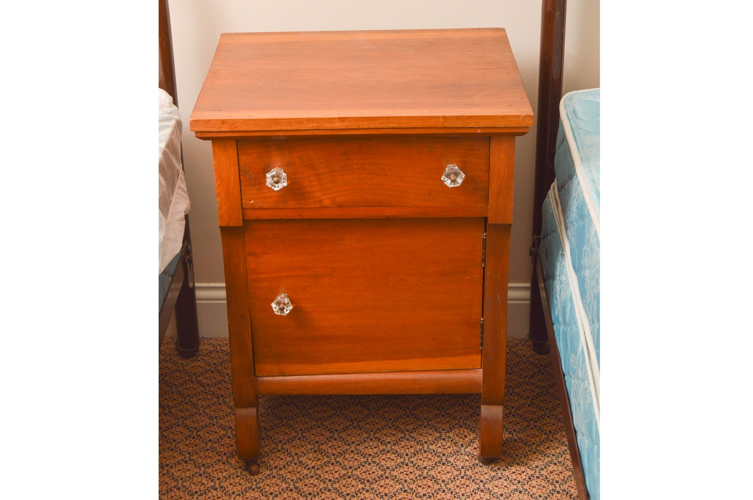 American Empire Style Nightstand