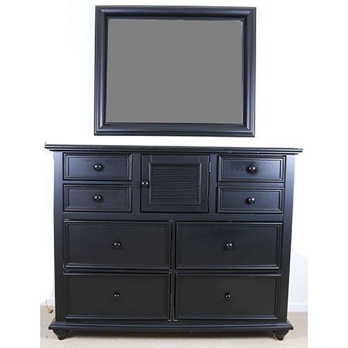 """""""Young America"""" Dresser and Mirror by Stanley Furniture"""