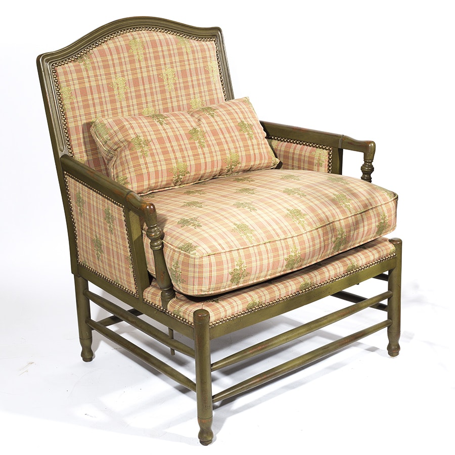 Bergère Style Armchair by Isenhour Furniture