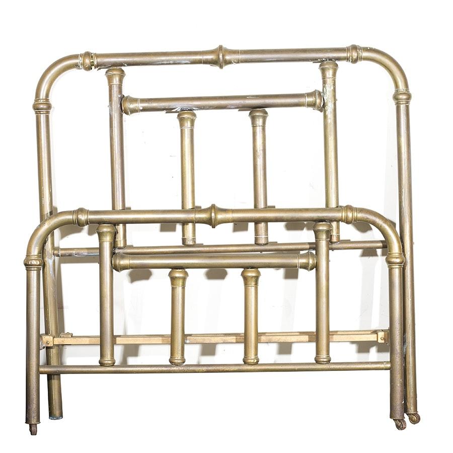 Vintage Copper Bed Frame