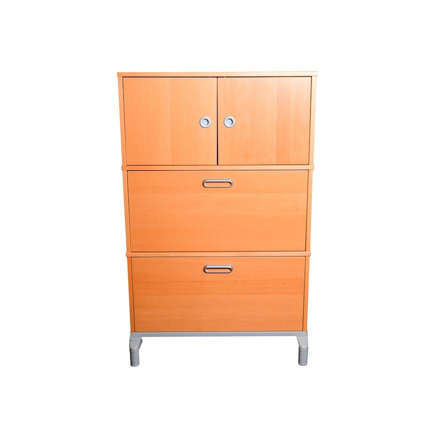 """Effektiv"" Filing Cabinet by Ikea | EBTH"