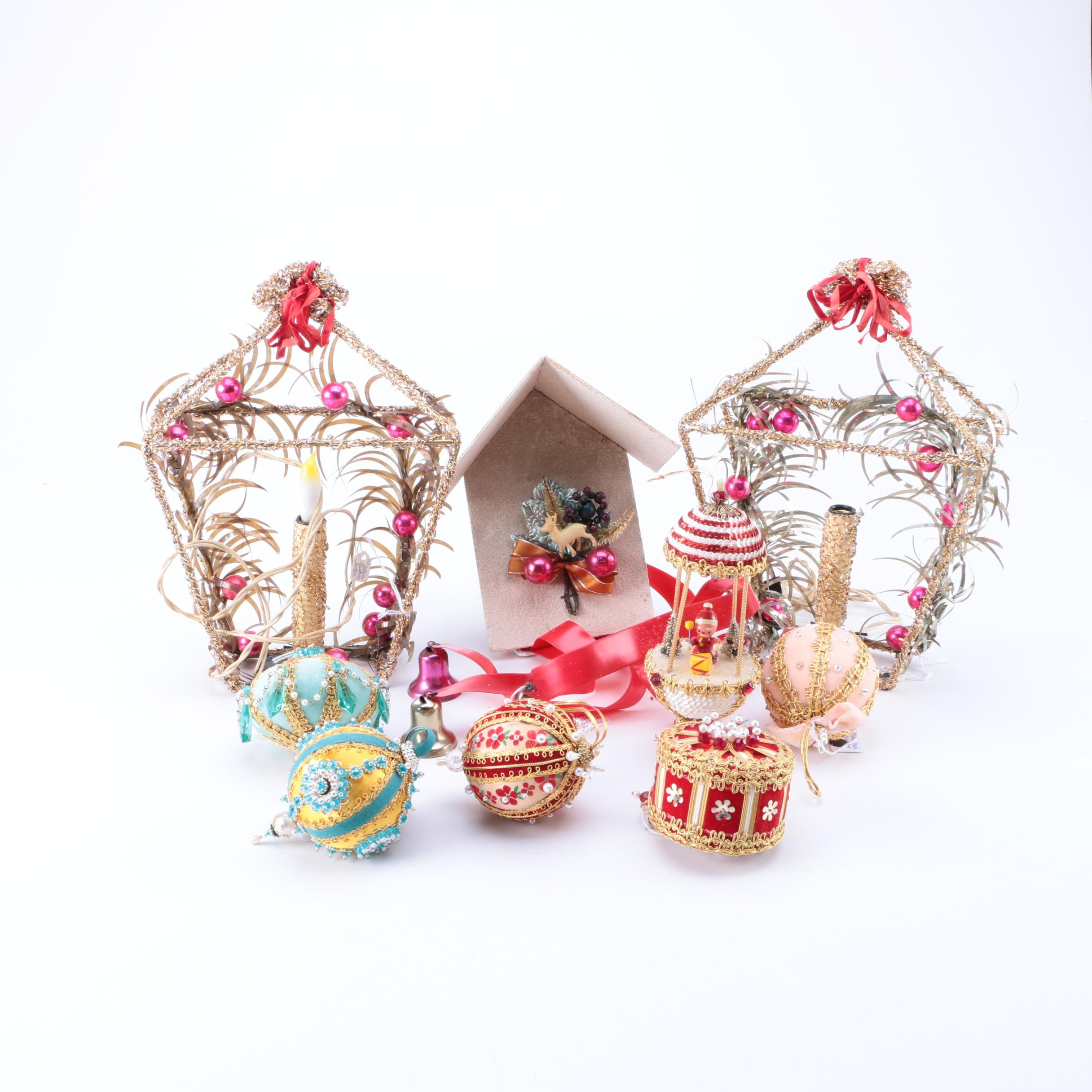 Vintage Christmas Ornaments and Other Decor