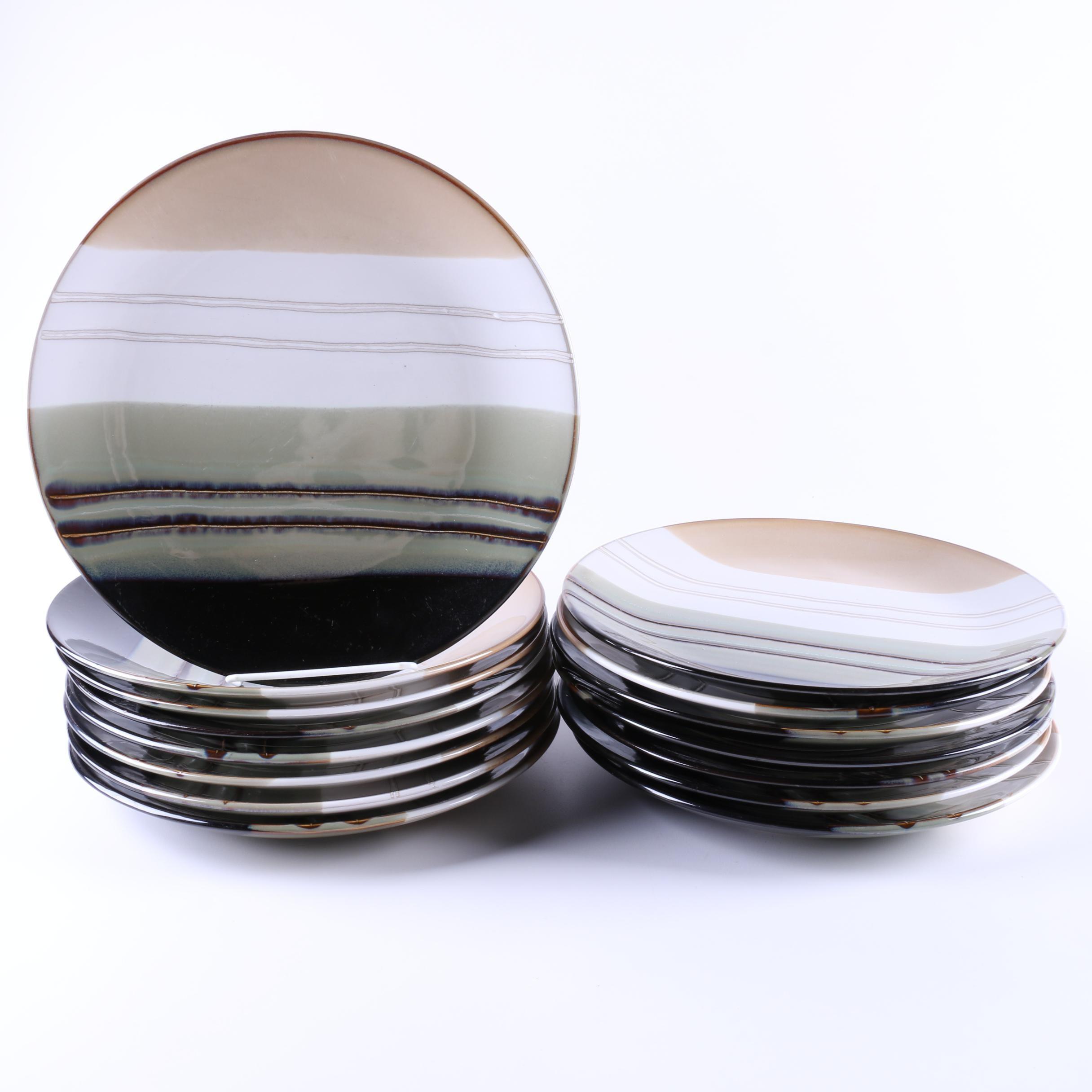 Hometrends \ Jazz\  Ceramic Dinner ...  sc 1 st  EBTH.com & Hometrends \