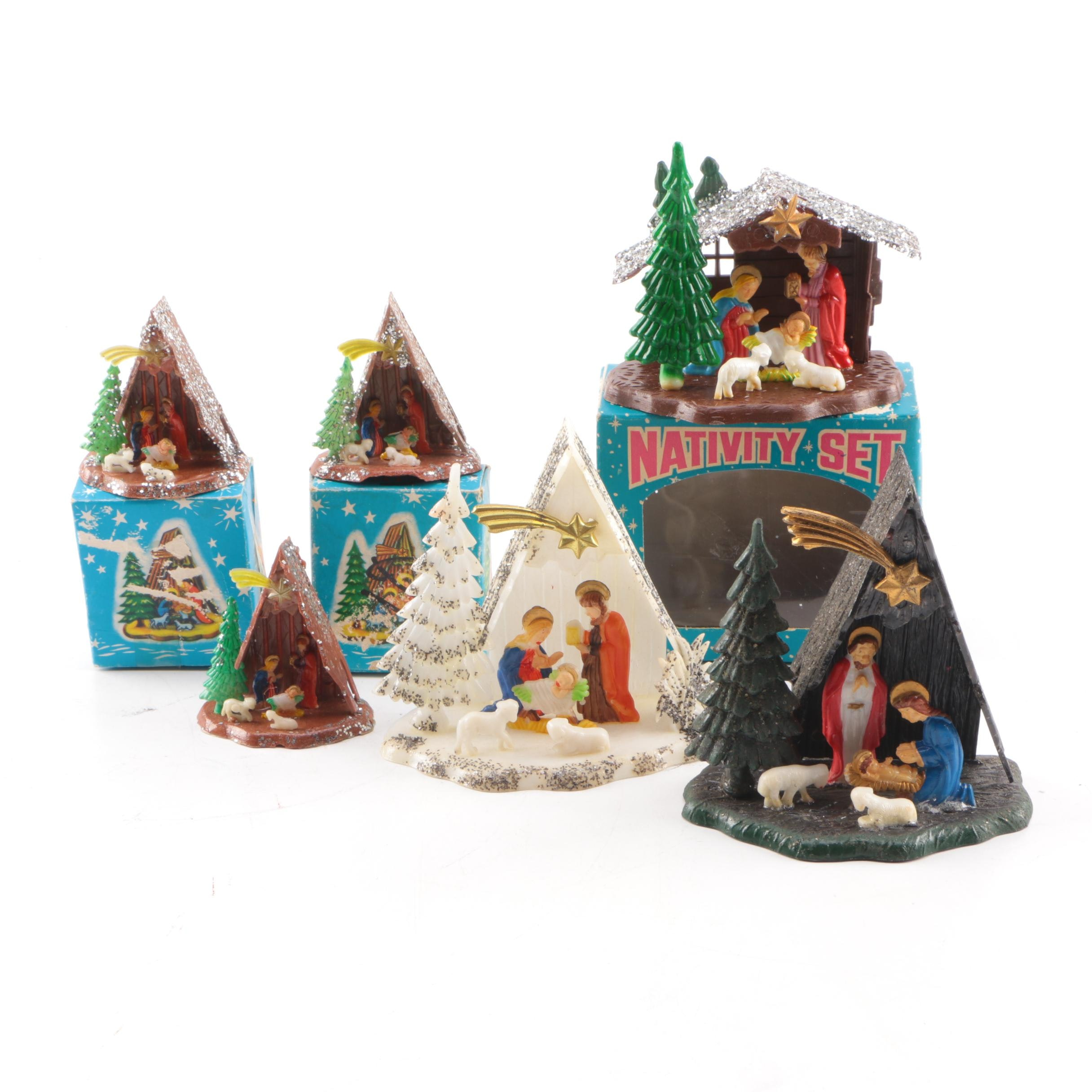 Collection of Nativity Scenes