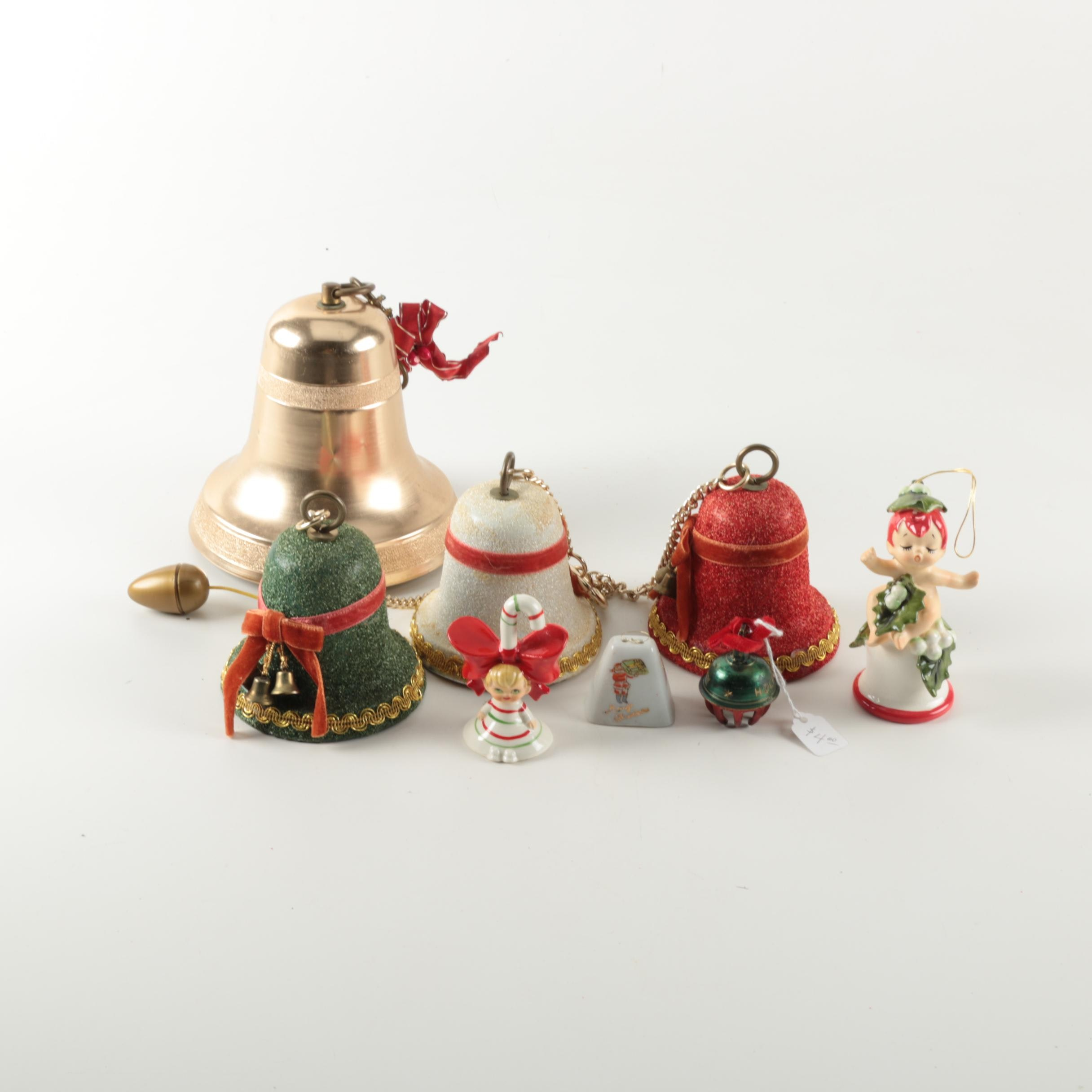 Christmas Themed Bells and Decor