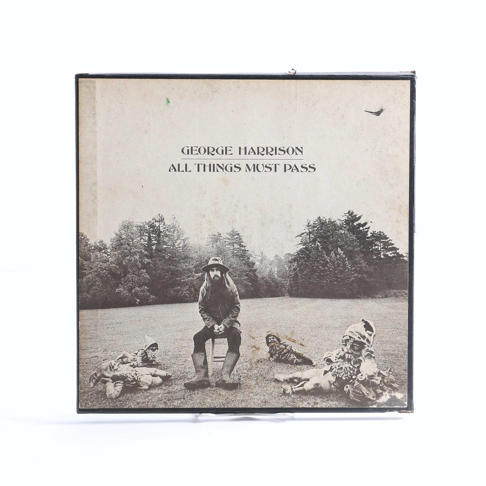 "George Harrison ""All Things Must Pass"" First Pressing LP with Poster"