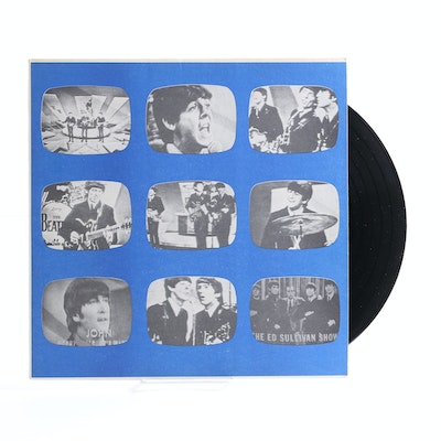 "The Beatles ""The 1964 And 1965 Ed Sullivan Shows"" LP"