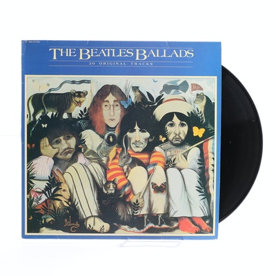 "The Beatles ""Ballads"" French LP"