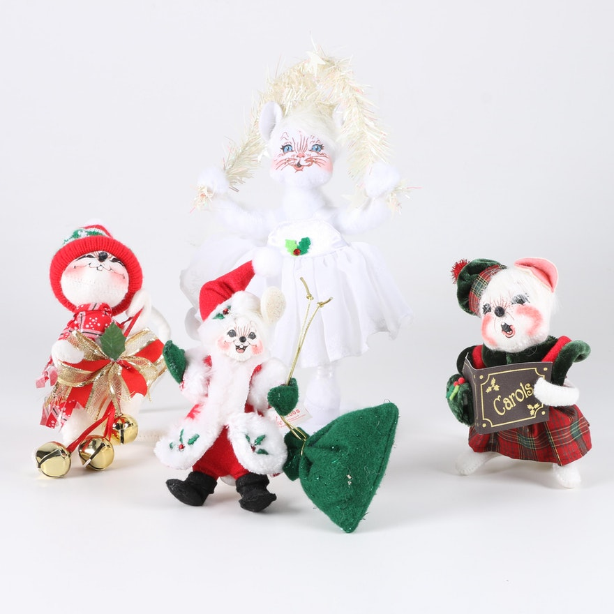 annalee christmas animal decor - Annalee Christmas Decorations