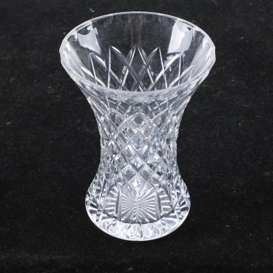 Cartier Crystal Flower Vase Ebth
