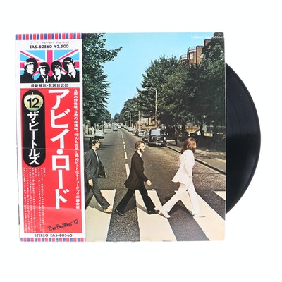 "The Beatles ""Abbey Road"" 1976 Japanese Pressing LP"