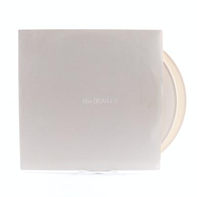 "The Beatles ""White Album"" 1976 German Pressing LP on White Vinyl"